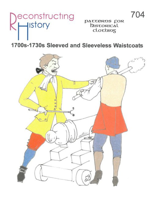 Image for RH704: 1700S - 1730S SLEEVED AND SLEEVELESS WAISTCOATS