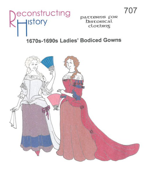 Image for RH707: 1670-1690S LADIES' BODICED GOWNS