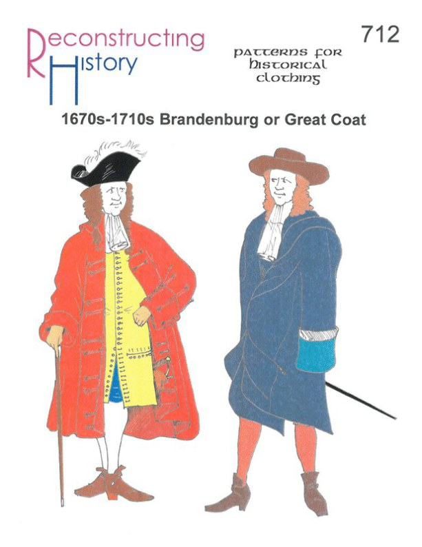 Image for RH712: 1670S - 1710S BRANDENBURG OR GREAT COAT