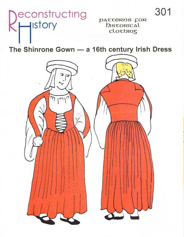 Image for RH301: THE SHINRONE GOWN - A 16TH CENTURY IRISH DRESS