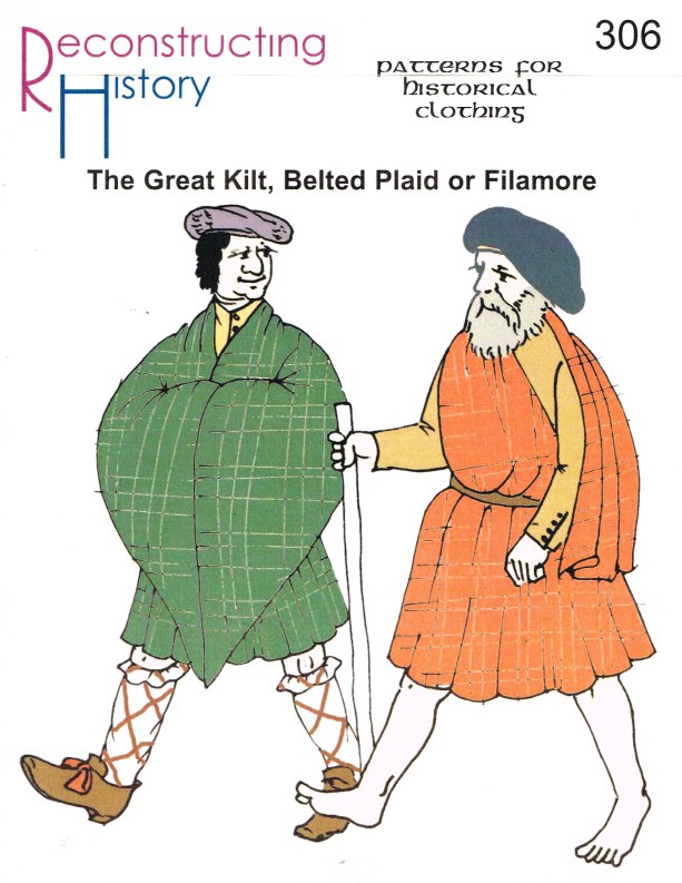 Image for RH306: THE GREAT KILT, BELTED PLAID OR FILAMORE