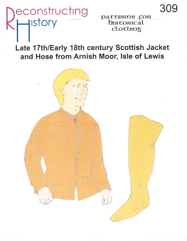 Image for RH309: LATE 17TH/EARLY 18TH CENTURY SCOTTISH JACKET AND HOSE FROM ARNISH MOR, ISLE OF LEWIS