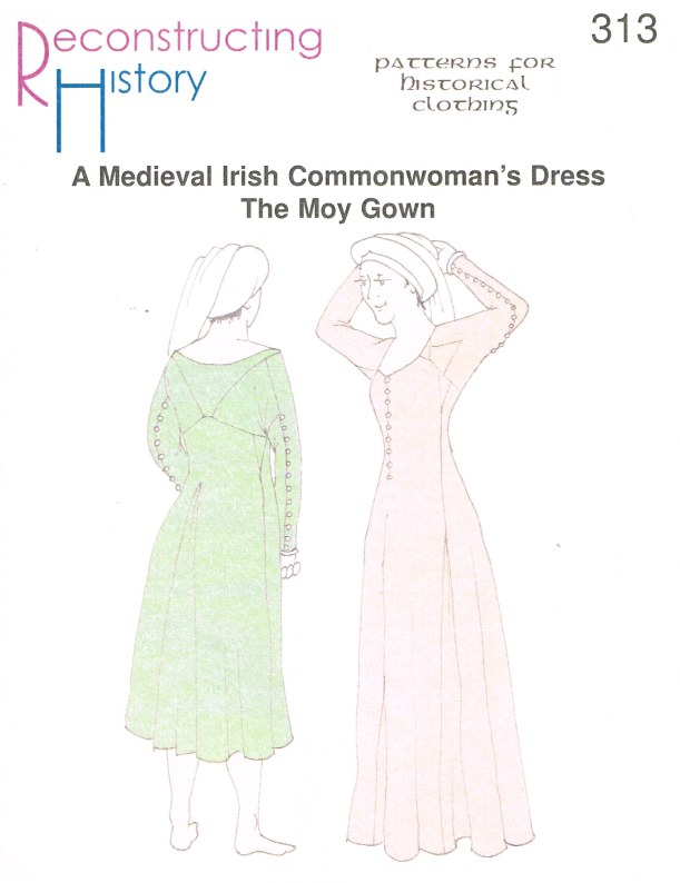 Image for RH313: A MEDIEVAL IRISH COMMONWOMAN'S DRESS - THE MOY GOWN