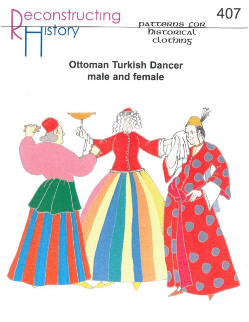 Image for RH407: OTTOMAN TURKISH DANCER MALE AND FEMALE