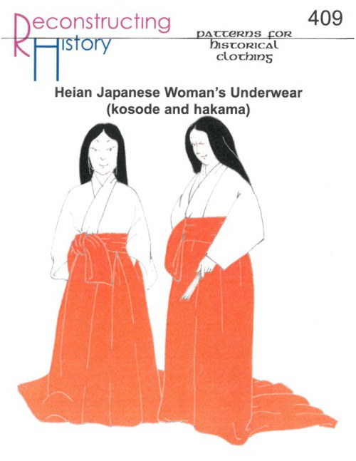 Image for RH409: HEIAN JAPANESE WOMAN'S UNDERWEAR (KOSODE AND HAKAMA)