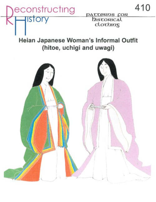 Image for RH410: HEIAN JAPANESE WOMAN'S INFORMAL OUTFIT (HITOE, UCHIGI AND UWAGI)