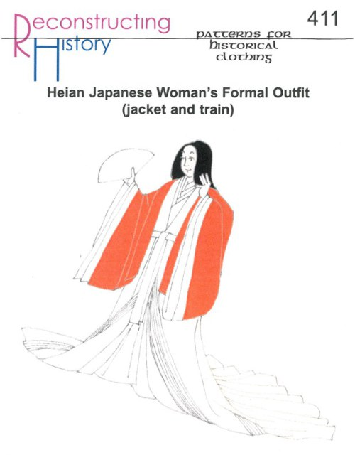 Image for RH411: HEIAN JAPANESE WOMAN'S FORMAL OUTFIT (JACKET AND TRAIN)