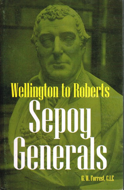 Image for SEPOY GENERALS: WELLINGTON TO ROBERTS