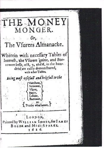 Image for THE MONEY MONGER (1626)