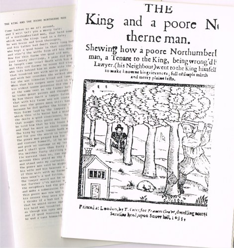 Image for THE KING AND A POORE NORTHERNE MAN (1633)
