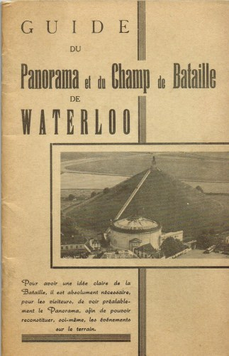 Image for GUIDE DU PANORAMA ET DU CHAMP DE BATAILLE DE WATERLOO
