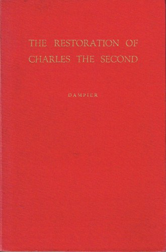 Image for THE RESTORATION OF CHARLES THE SECOND