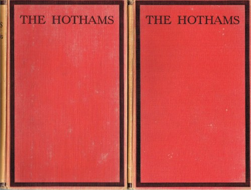 Image for THE HOTHAMS: BENG THE CHRONICLES OF THE HOTHAMS OF SCORBOROUGH AND SOUTH DALTON FROM THEIR HITHERTO UNPUBLISHED FAMILY PAPERS (TWO VOLUME SET)