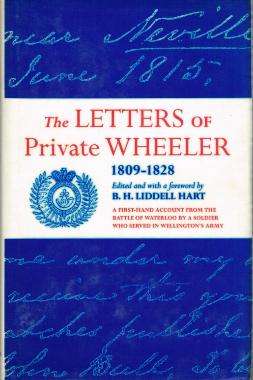 Image for THE LETTERS OF PRIVATE WHEELER 1809-1828