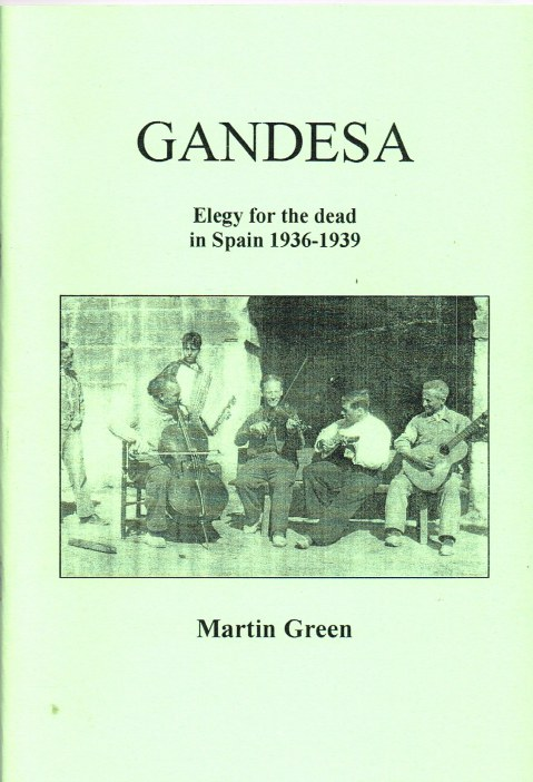 Image for GANDESA : ELEGY FOR THE DEAD IN SPAIN 1936-1939