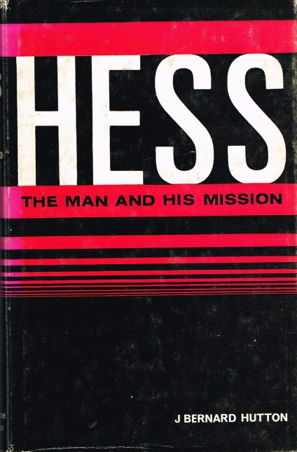 Image for HESS: THE MAN AND HIS MISSION