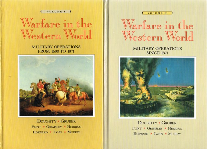 Image for WARFARE IN THE WESTERN WORLD (TWO VOLUME SET)