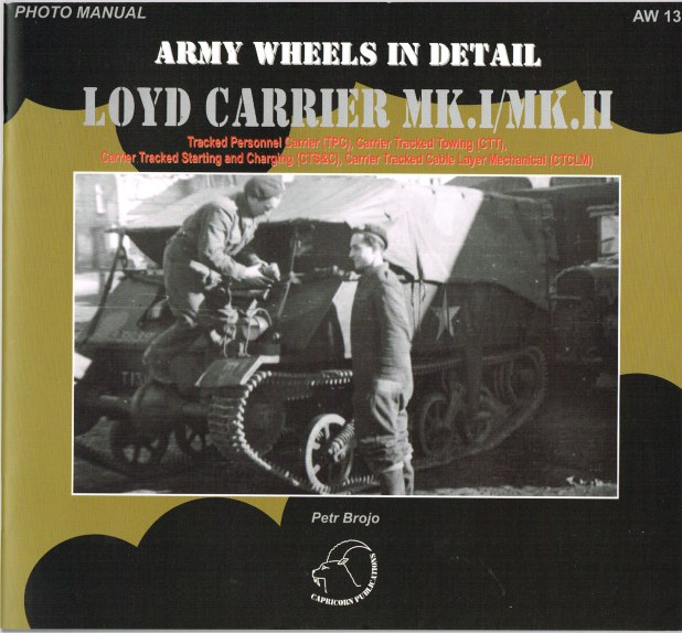 Image for ARMY WHEELS IN DETAIL: LOYD CARRIER MK.I / MK.II