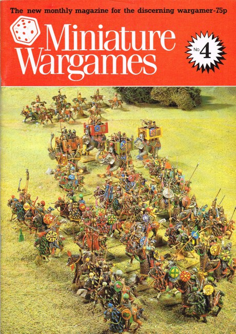 Image for MINIATURE WARGAMES NO. 4