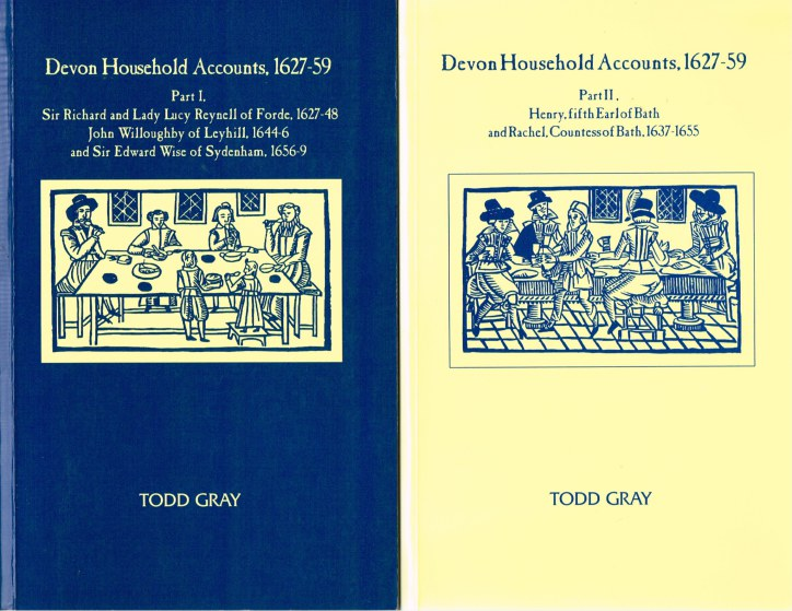Image for DEVON HOUSEHOLD ACCOUNTS, 1627-59 (TWO VOLUME SET)