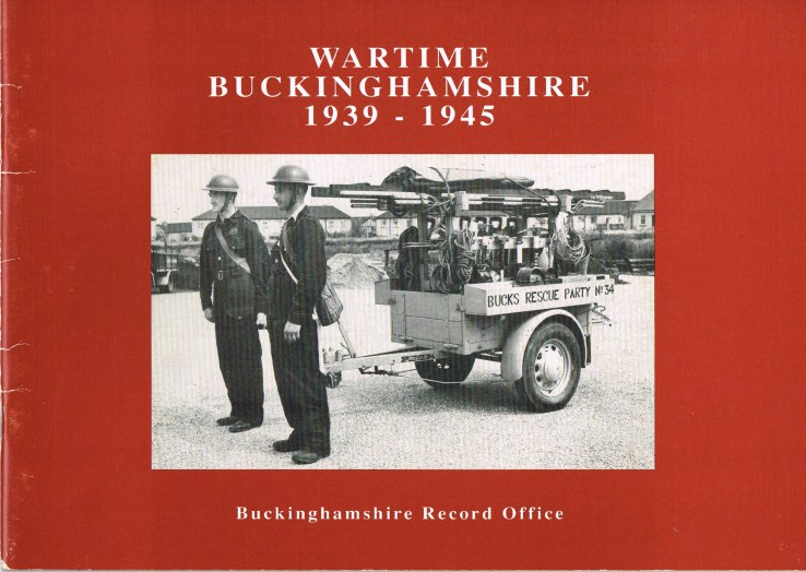 Image for WARTIME BUCKINGHAMSHIRE 1939-1945