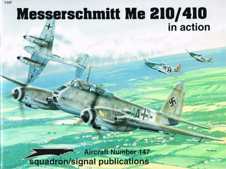 Image for MESSERSCHMITT ME 210/410 IN ACTION