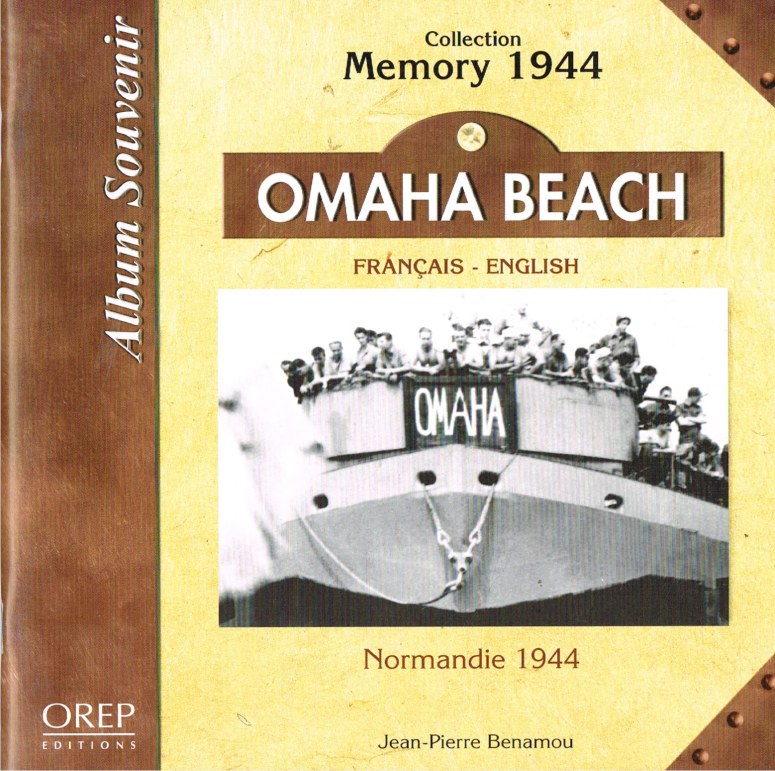 Image for ALBUM SOUVENIR COLLECTION MEMORY 1944: OMAHA BEACH