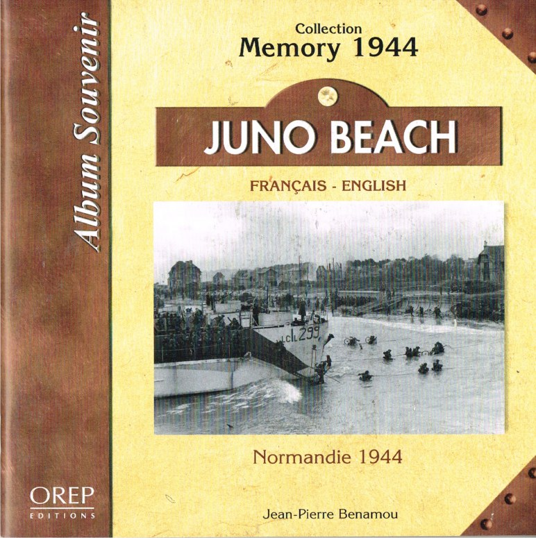 Image for ALBUM SOUVENIR COLLECTION MEMORY 1944: JUNO BEACH