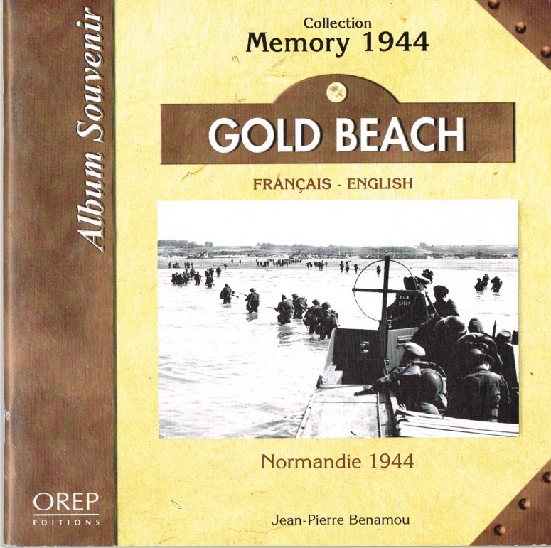 Image for ALBUM SOUVENIR COLLECTION MEMORY 1944: GOLD BEACH