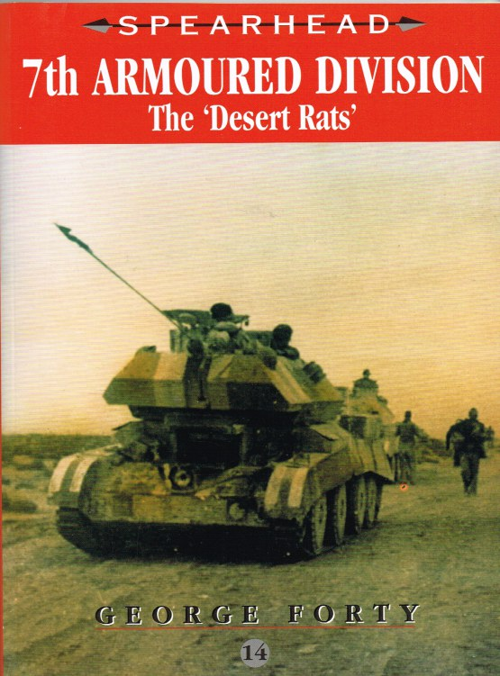 Image for SPEARHEAD 14: 7TH ARMOURED DIVISION 'THE DESERT RATS'