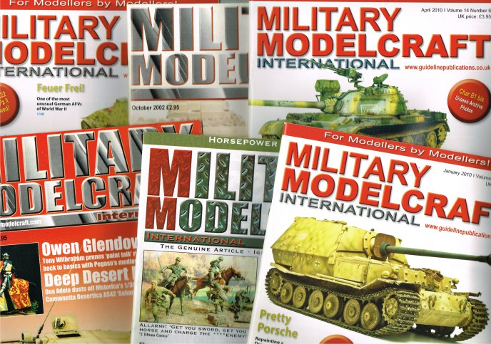 Image for MILITARY MODELCRAFT INTERNATIONAL (BACK ISSUES IN STOCK)