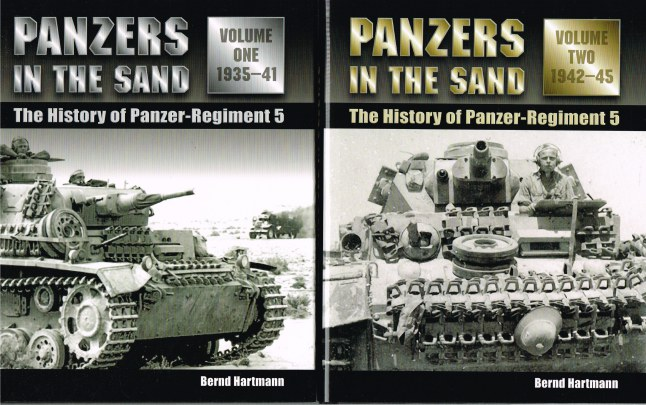 Image for PANZERS IN THE SAND: THE HISTORY OF PANZER REGIMENT 5 1935-1945 (TWO VOLUME SET)