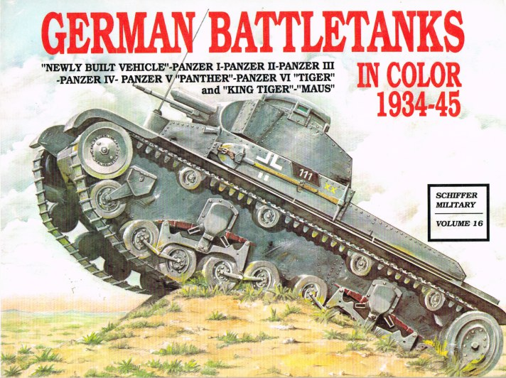 Image for GERMAN BATTLETANKS IN COLOR 1934-45
