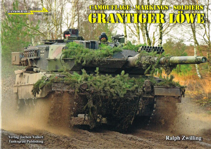 Image for IN DETAIL FAST TRACK 13: GRANTIGER LOWE: CAMOUFLAGE - MARKINGS - SOLDIERS