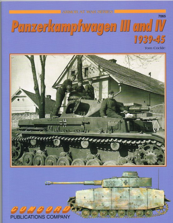 Image for PANZERKAMPFWAGEN III AND IV 1939-45