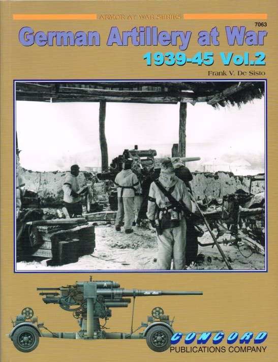 Image for GERMAN ARTILLERY AT WAR 1939-45 VOL.2