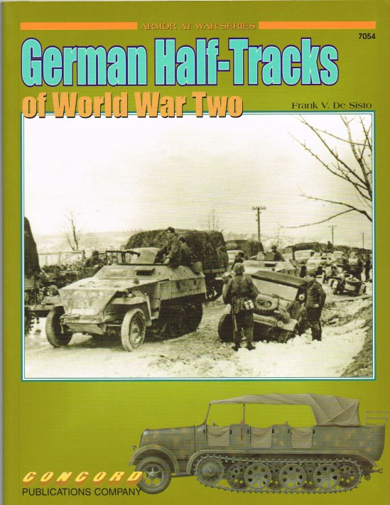 Image for GERMAN HALF-TRACKS OF WORLD WAR TWO