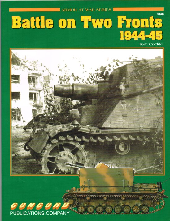 Image for BATTLE ON TWO FRONTS 1944-45