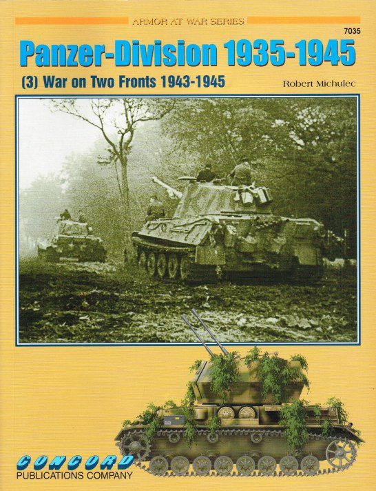 Image for PANZER-DIVISION 1935-1945 (3) WAR ON TWO FRONTS 1943-1945