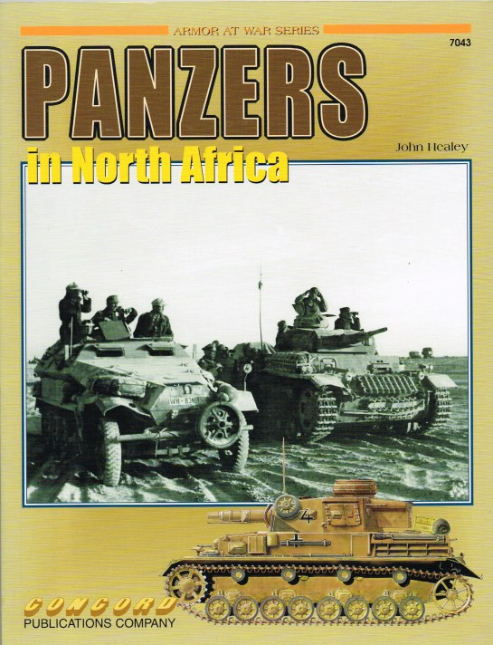 Image for PANZERS IN NORTH AFRICA