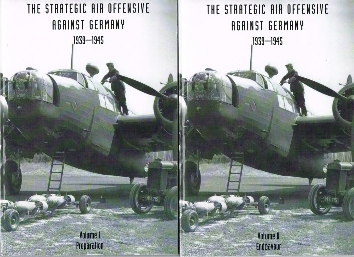 Image for THE STRATEGIC AIR OFFENSIVE AGAINST GERMANY 1939-1945 (THREE VOLUMES)
