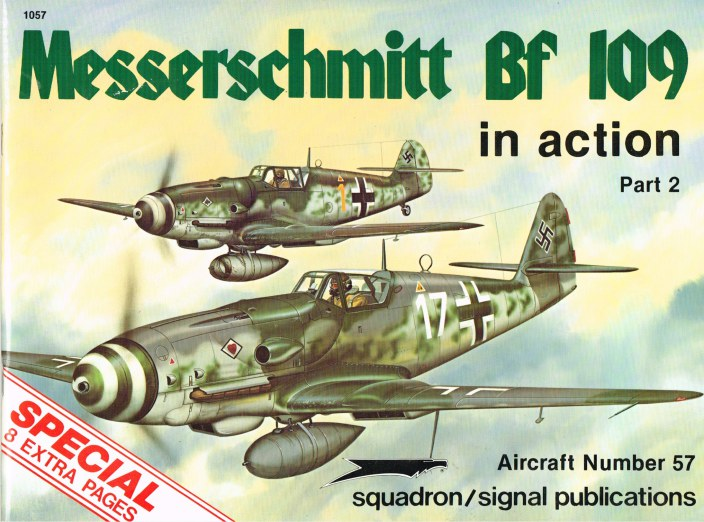 Image for MESSERSCHMITT BF 109 IN ACTION (PART 2)