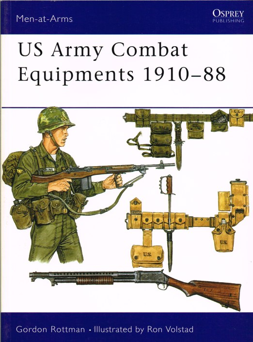 Image for US ARMY COMBAT EQUIPMENTS 1910-88
