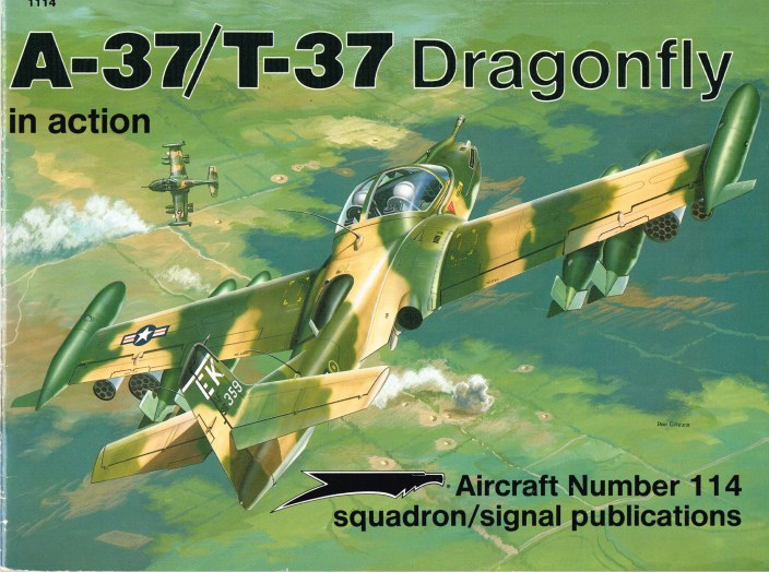 Image for A-37 / T-37 DRAGONFLY IN ACTION