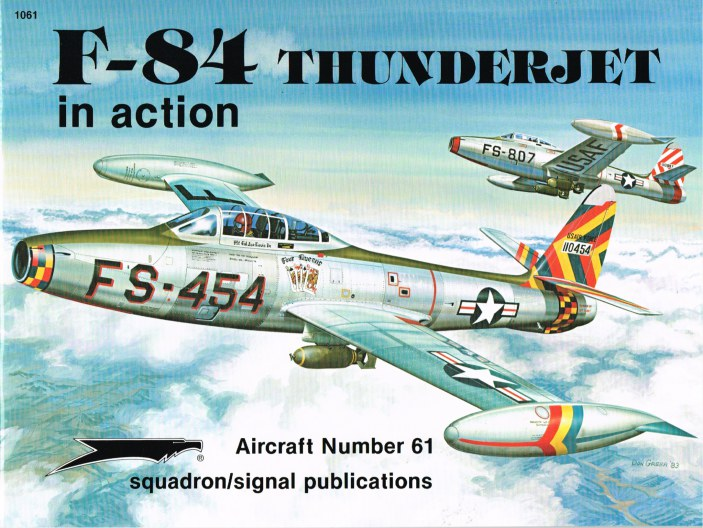 Image for F-84 THUNDERJET IN ACTION