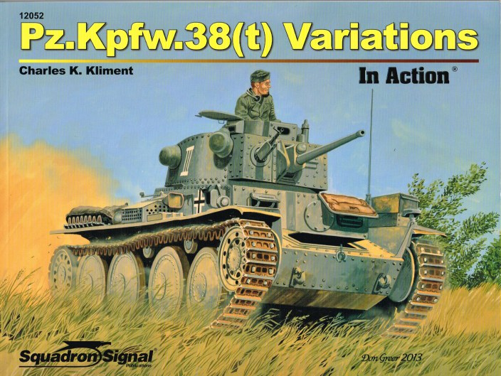 Image for PZ.KPFW.38 (T) VARIATONS IN ACTION