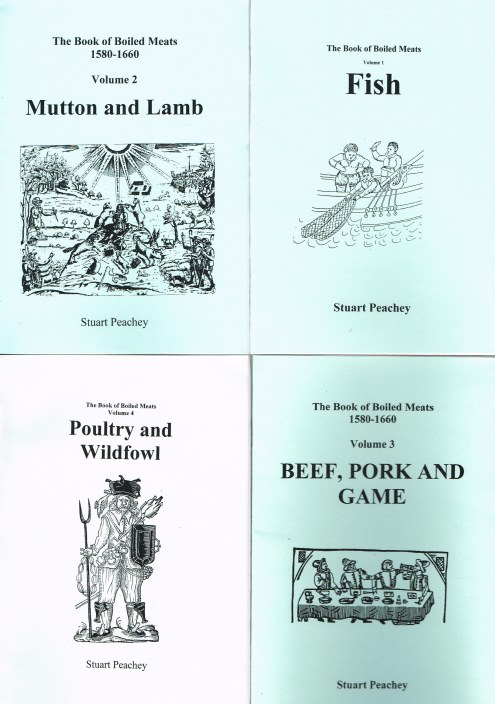 Image for THE BOOK OF BOILED MEATS 1580-1660 (FOUR VOLUME SET)