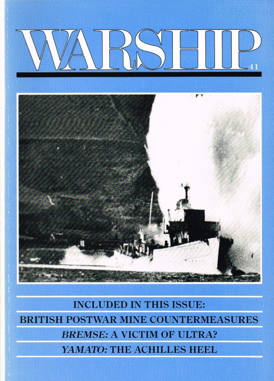 Image for WARSHIP VOLUME 41, JANUARY 1987