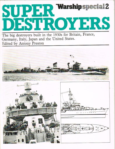 Image for WARSHIP SPECIAL 2 : SUPER DESTROYERS