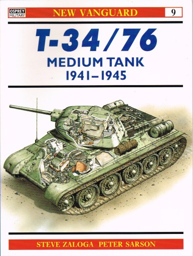 Image for T-34/76 MEDIUM TANK 1941-1945